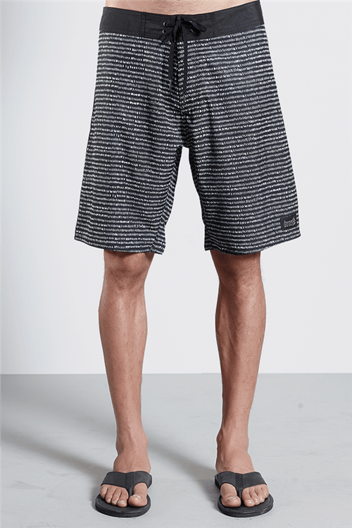 Boardshort Lenco Dots Preto 46