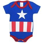 Body Bebê Masculino Manga Curta América-G