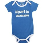 Body Bebê Partiu Casa da Vovó 13093e Basic +
