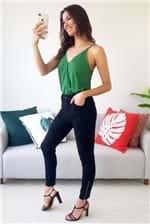 Body Colcci Slim com Alça Transpassado- Verde