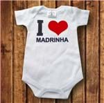 Body I Love Madrinha I Love Madrinha- Branco Curta P