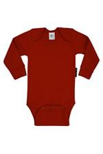 Body Mg Longa Liso Rn1 - Vermelho