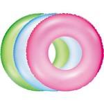 Bóia Infantil Inflável Neon 76cm Cores Diversas Bel Fix