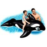 Boia Inflável Baleia Orca Gigante 1,93m X 1,19m Intex