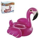 Boia Inflável Flamingo com Alça