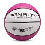 Bola Bask Basquete Penalty Shoot 530144 Branco/Roxo