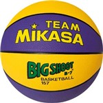 Bola Basket FIBA #7 Mikasa Amarela e Roxo