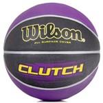 Bola Basquete Wilson Clutch - Roxo/preto
