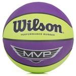 Bola Basquete Wilson Mvp - Verde/roxo