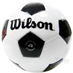 Bola Campo Wilson Número 4 - Branca/preta