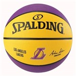 Bola de Basquete Spalding NBA Los Angeles Lakers Amarela - Spalding