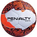 Bola de Campo Penalty Digital Branco Laranja e Preto