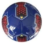 Bola de Futebol - Azul e Vermelho - Dtc