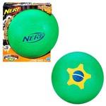 Bola de Futebol Brasil Nerf Sports - Hasbro A8279