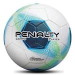 Bola de Futebol de Campo Penalty Player Super Soft Branco Azul Verde