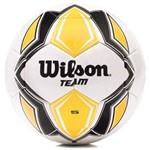 Bola de Futebol de Campo Wilson Team Sb Branca e Amarela
