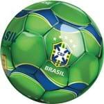 Bola de Futebol DTC CBF Verde/Azul