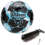 Bola de Futebol Rebar Ng Azul C/ Preto 100% Original Wilson