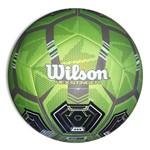 Bola de Futebol Wilson Hex Stinger Tamanho 5 - Verde com Marrom e Preta-Verde Claro-SP