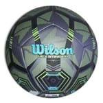 Bola de Futebol Wilson Hex Stinger Tamanho 5 - Verde com Preta-Verde / Preto-SP