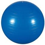 Bola de Ginástica 55cm para Pilates e Yoga Azul MOR 40100001