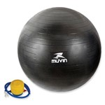 Bola de Ginástica Pilates - com Bomba - Muvin 85 CM