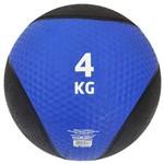 Bola de Peso Medicine Ball Magussy Borracha Kick 4 Kg