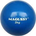 Bola de Peso Medicine Slam Ball Magussy PVC 2 Kg Sem Kick