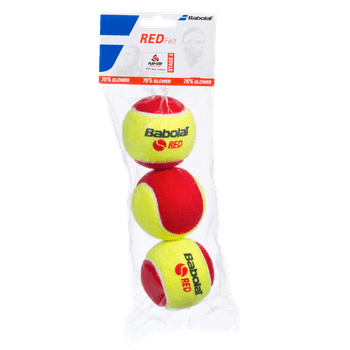 Bola de Tênis Babolat Red Felt Pet X3