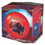 Bola de Vinil na Caixa Spider Man - Cor Vermelho