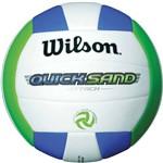 Bola de Volei Quicksand Verde Azul Wilson