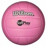 Bola de Vôlei Soft Play Microfibra Pu e Pvc Rosa Wilson