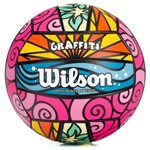 Bola de Vôlei Wilson Grafiti Cores Diversas Colorida