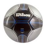 Bola Futebol Wilson Rebar 5 - Prata e Azul