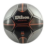 Bola Futebol Wilson Rebar#5 - Prata e Laranja