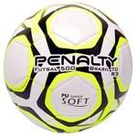 Bola Futsal Penalty Brasil 70 R3 Ix5113111810 Branco/amarelo/preto
