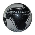 Bola Futsal Penalty Futsal 500 8 Ix - Branco/preto