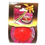 Bola Maciça Mamoninha Vermelho Furacão Pet - 45mm