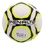 Bola Penalty Brasil 70 R3 IX Campo Branca e Amarela