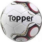 Bola Society Maestro - Topper - Branco/Vermelho