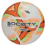 Bola Society Penalty Matis Viii - Branco/laranja