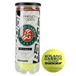 Bola Tenis Babolat Roland Garros - Pack 03 Bolas - 01 Tubo