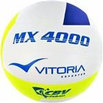 Bola Volei Oficial Vitoria Mx 4000 Azul