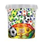 Bolinhas de Chocolate Futebol Top Milk 500g - Top Cau