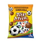 Bolinhas de Chocolate Top Milk 300g - Top Cau
