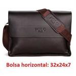 Bolsa Carteiro Pasta Notebook Tablet Ipod Couro Legítimo