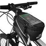 Bolsa de Quadro Porta Celular para Bicicleta - Muvin - BBK-500