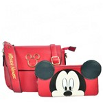 Bolsa Disney Mickey New Classic com Necessarie BMK78338