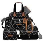Bolsa Everyday + Frasqueira Térmica Vicky + Necessaire Manhattan Preto - Masterbag