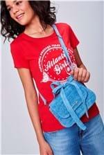 Bolsa Feminina Transversal Jeans - Tam: UC / Cor: BLUE
